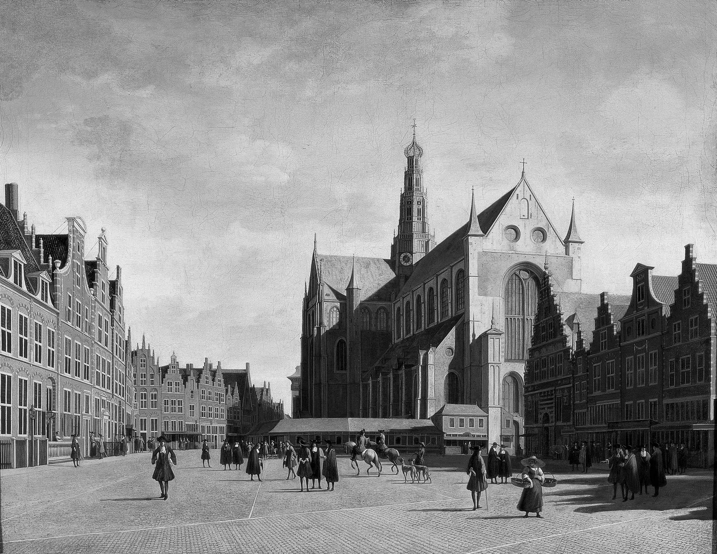 Haarlem, door Berkheyde