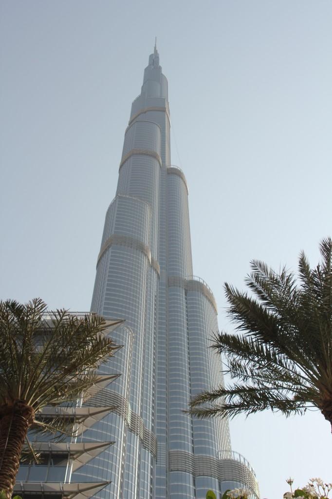 Burj Khalifa, hoogste gebouw ter wereld, prachtig uitzicht vanaf boven!