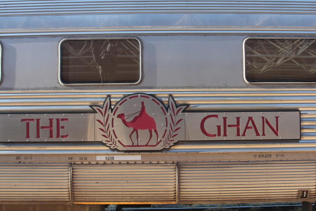 The Ghan, dwars door Australië van Zuid naar Noord.